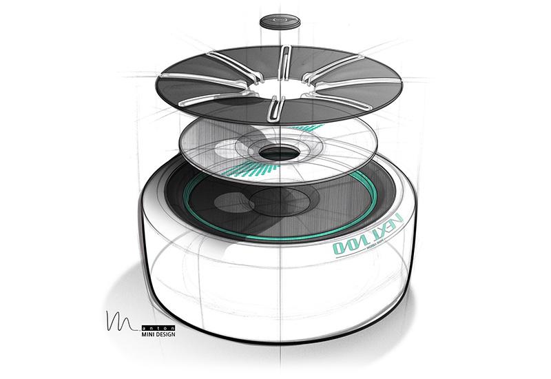 2016 Mini Vision Next 100 Concept