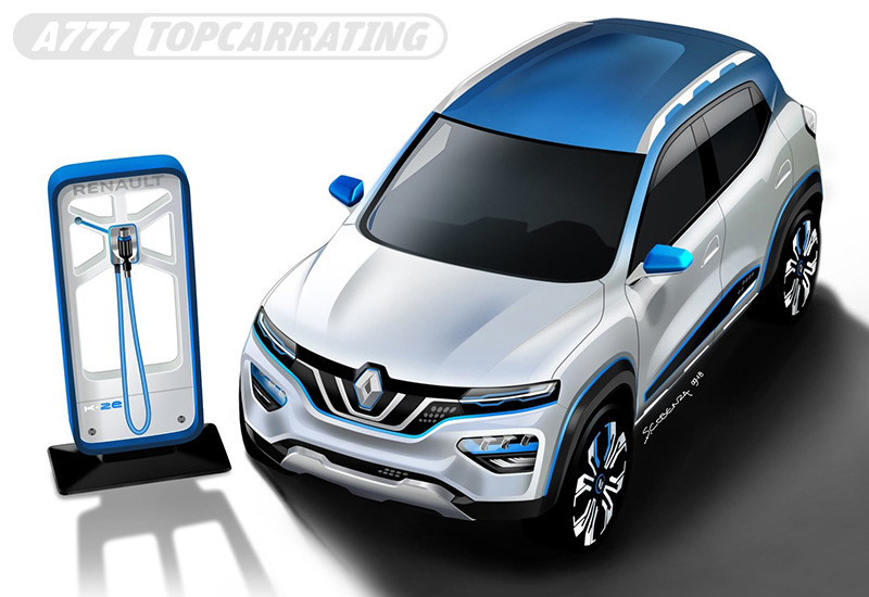 2018 Renault K-ZE Concept