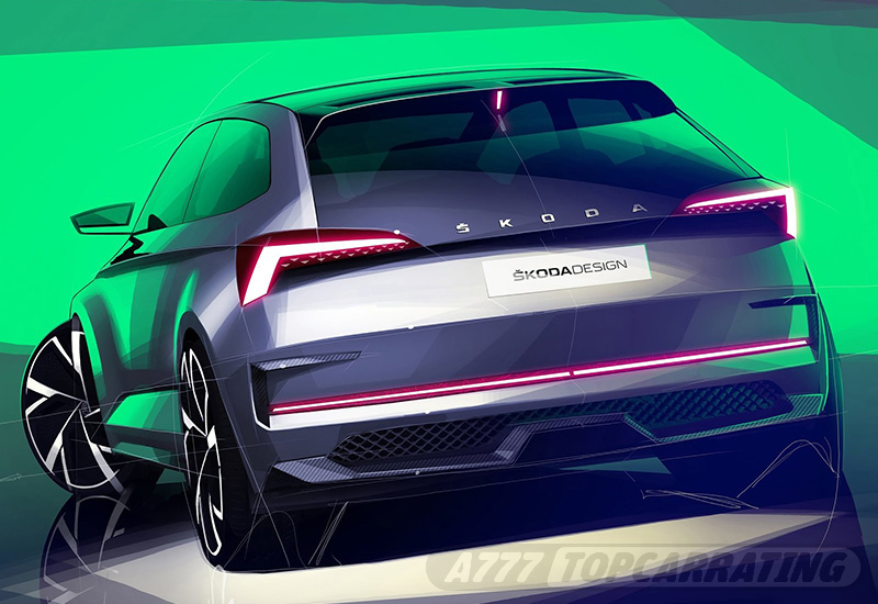 2018 Skoda Vision RS Concept