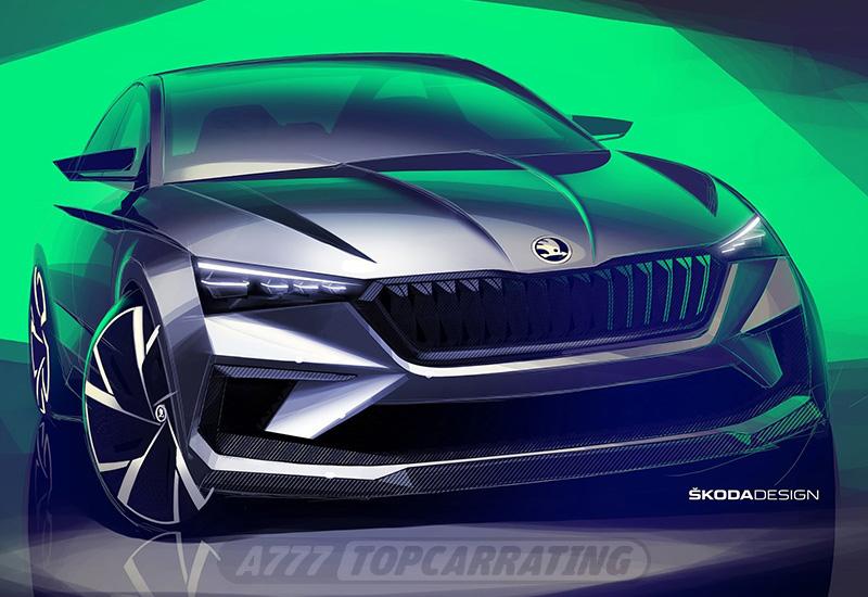 2018 Skoda Vision RS Concept