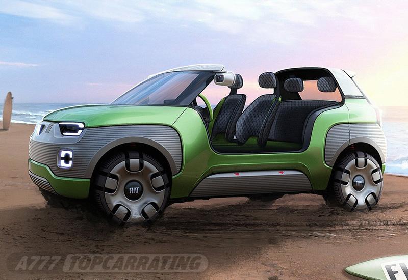 2019 Fiat Centoventi Concept