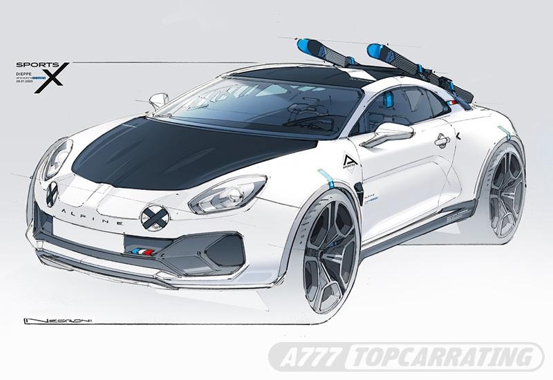 2020 Alpine A110 SportsX Concept