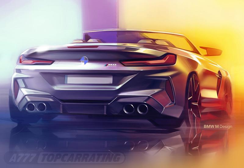 2020 BMW M8 Competition Cabrio (F91)