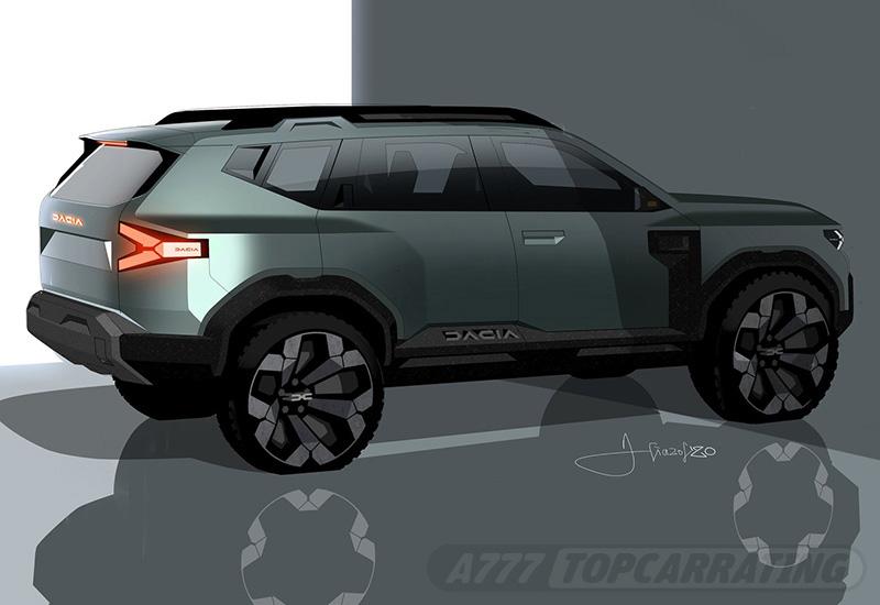 2021 Dacia Bigster Concept