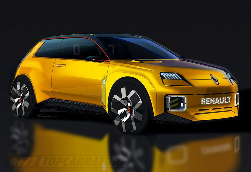 2021 Renault 5 Concept