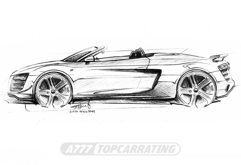 2011 Audi R8 GT Spyder