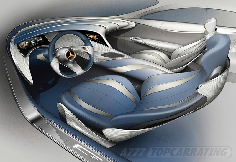 2011 Mercedes-Benz F125 Concept