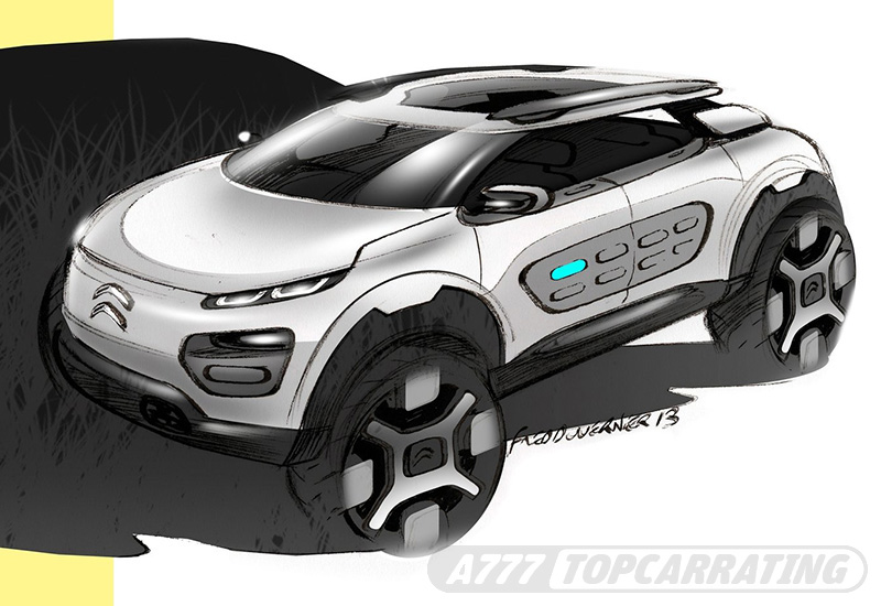 2013 Citroen Cactus Concept