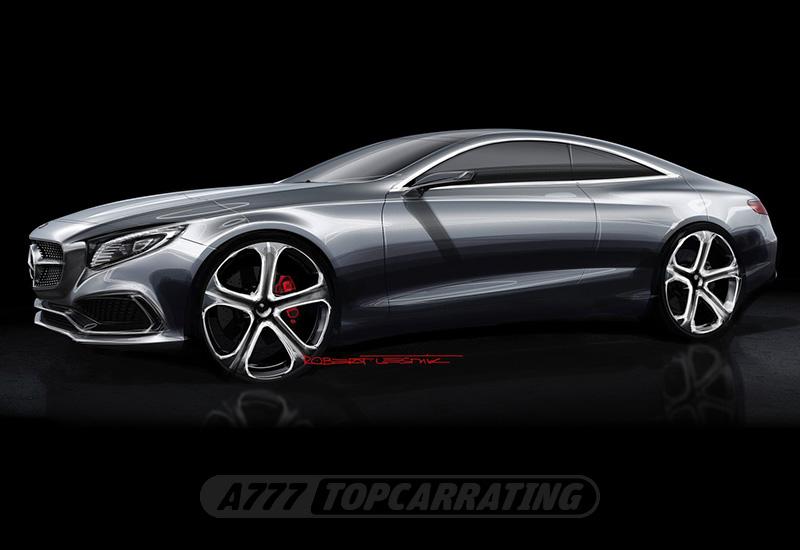 2013 Mercedes-Benz S-Class Coupe Concept