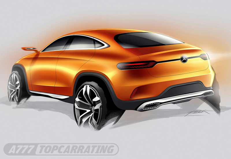 2014 Mercedes-Benz Coupe SUV Concept