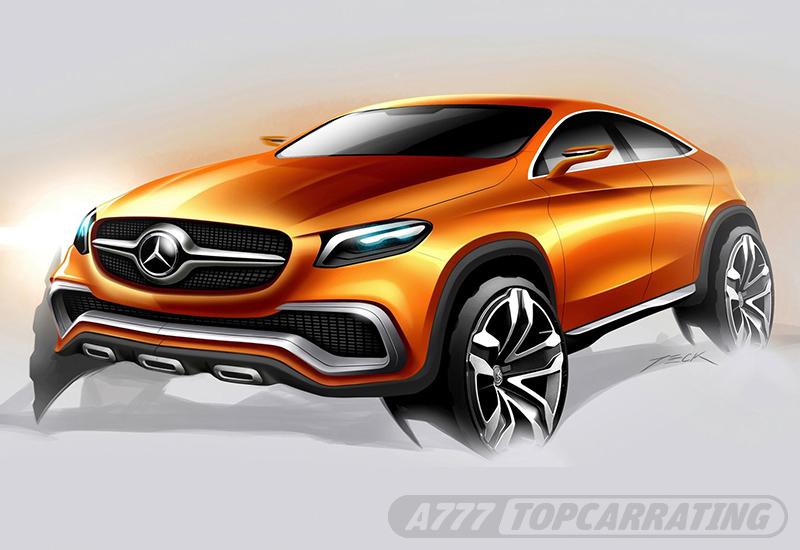 2014 Mercedes-Benz Coupe SUV Concept