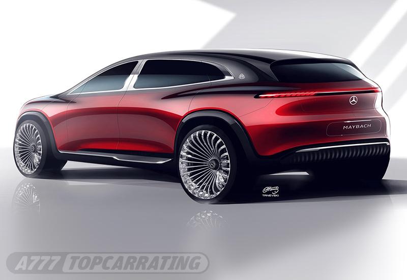2021 Mercedes-Benz Maybach EQS SUV Concept