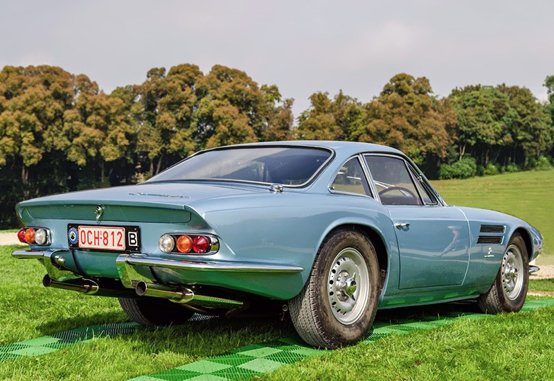 1963 Jaguar LeMans D-Type Coupe Special Michelotti