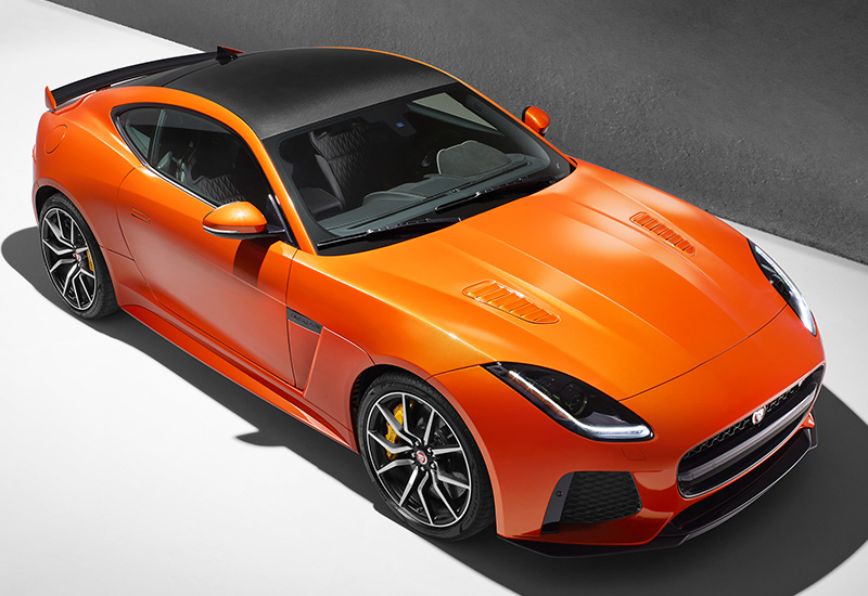 2017 Jaguar F-Type SVR Coupe