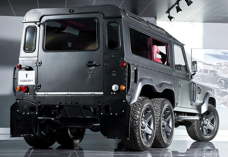 2015 Land Rover Defender Project Kahn Flying Huntsman 110 6x6