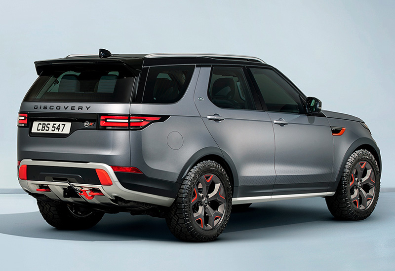2017 Land Rover Discovery SVX