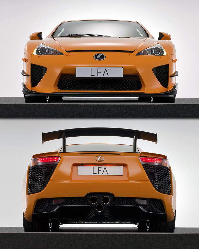 2010 Lexus LFA Nurburgring Performance Package
