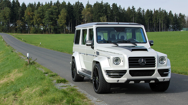 2010 Mercedes-Benz G 55 AMG Mansory G-Couture
