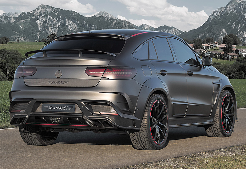 2016 Mercedes-AMG GLE 63 S Coupe 4Matic Mansory (C292)