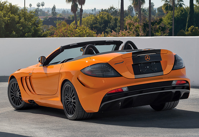 2010 Mercedes-Benz SLR McLaren Roadster MSO Edition 722S