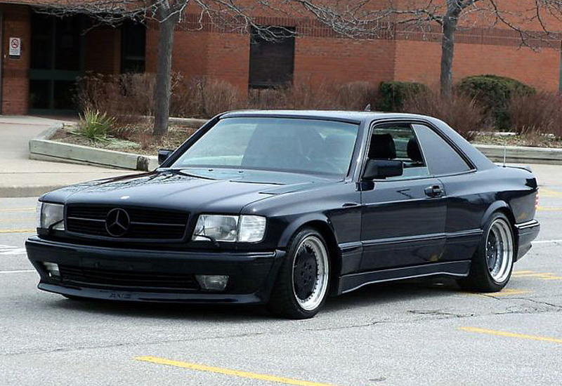1989 Mercedes-Benz 560 SEC AMG Wide Body