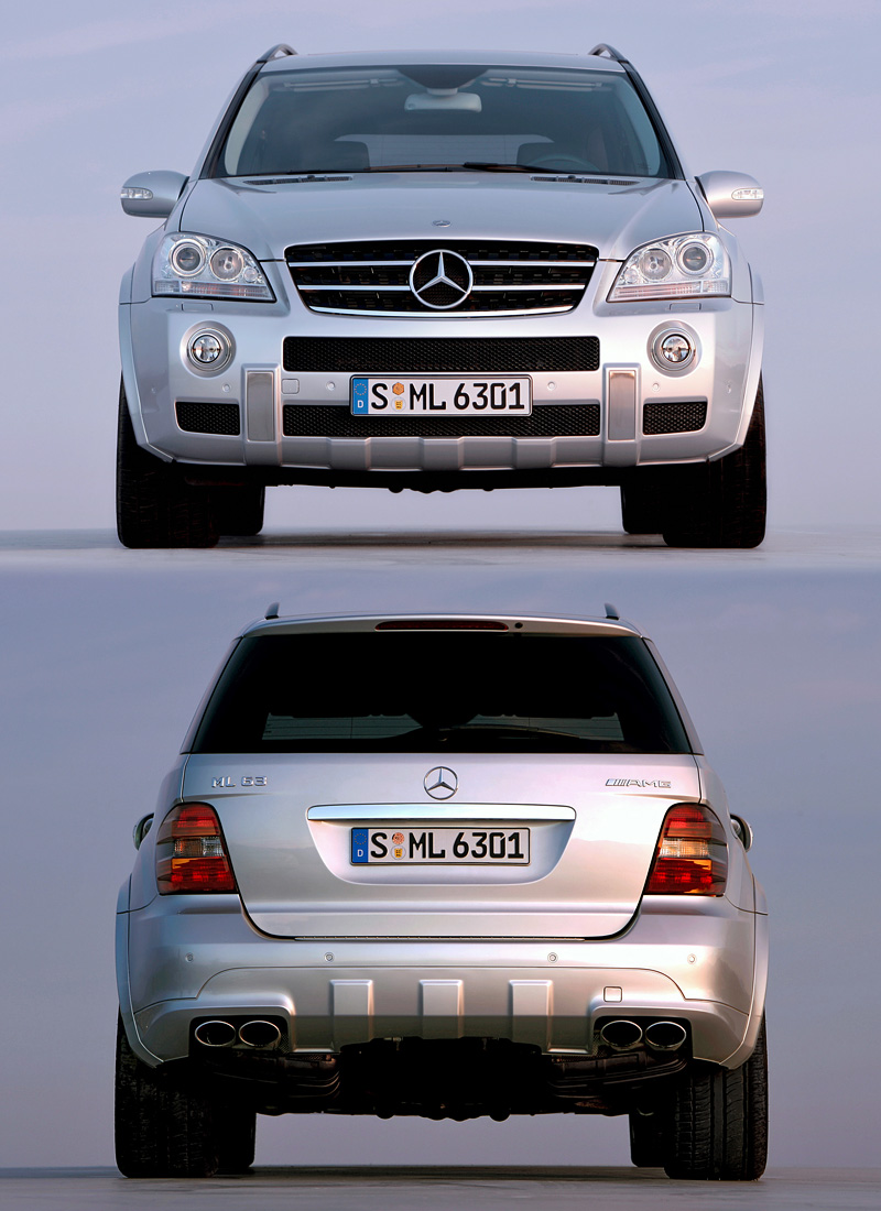 2006 Mercedes-Benz ML 63 AMG (W164)