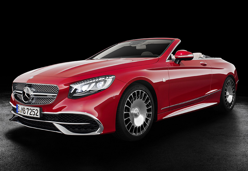 2017 Mercedes-Maybach S 650 Cabriolet (A217)