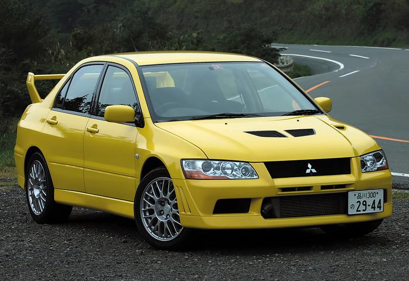 Обои жёлтый, mitsubishi, lancer, evolution, evo 8 картинки на ... | 550x800