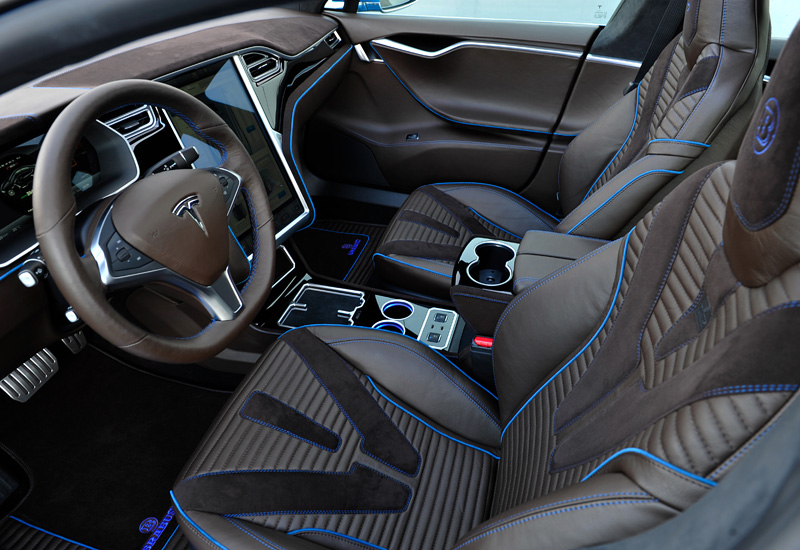 2016 Tesla Model S P85D Ludicrous Mode Brabus Zero Emission