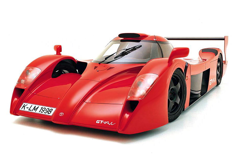 1998 Toyota GT-One Road Version (TS020)