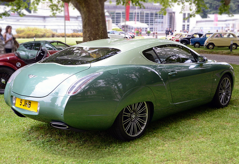 2012 Bentley Continental GTZ Zagato Special Edition